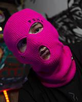 Балаклава унісекс Гармата Вогонь Tattoo рожева