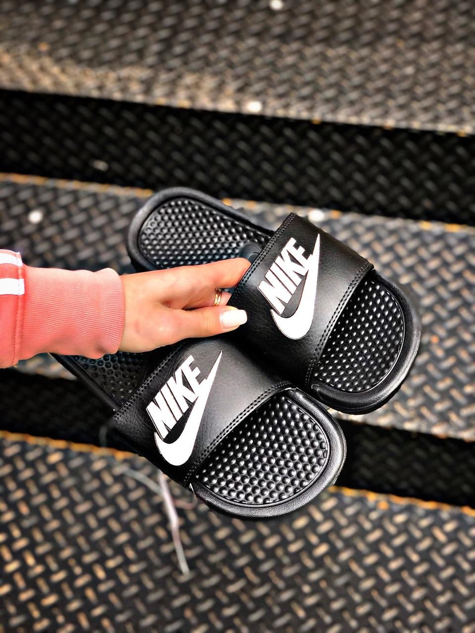 Чоловічі чорні сланці Nike