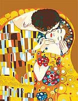 Набор-эконом акриловая живопись по номерам Поцелуй ROSA START