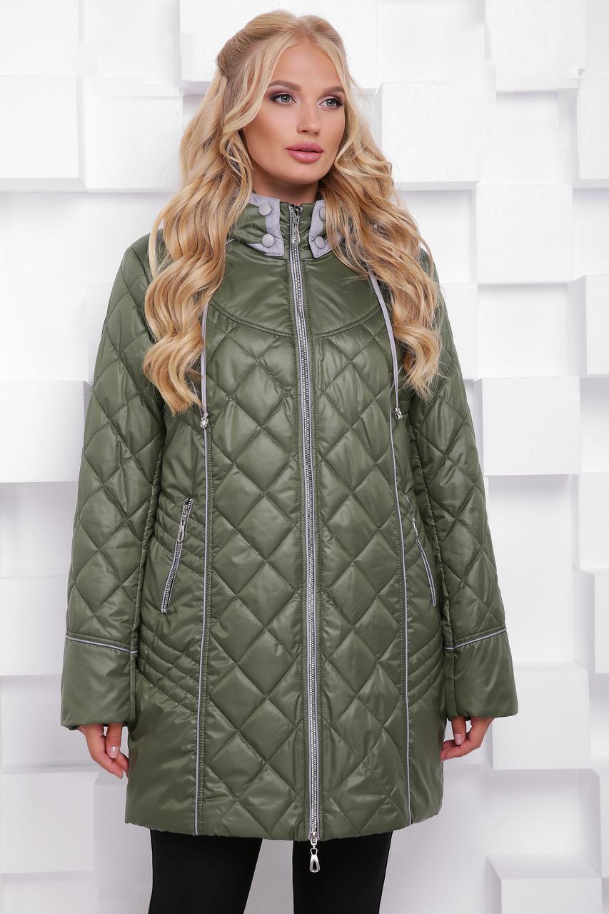 Осіння Куртка жіноча з 50 по 68 розмір