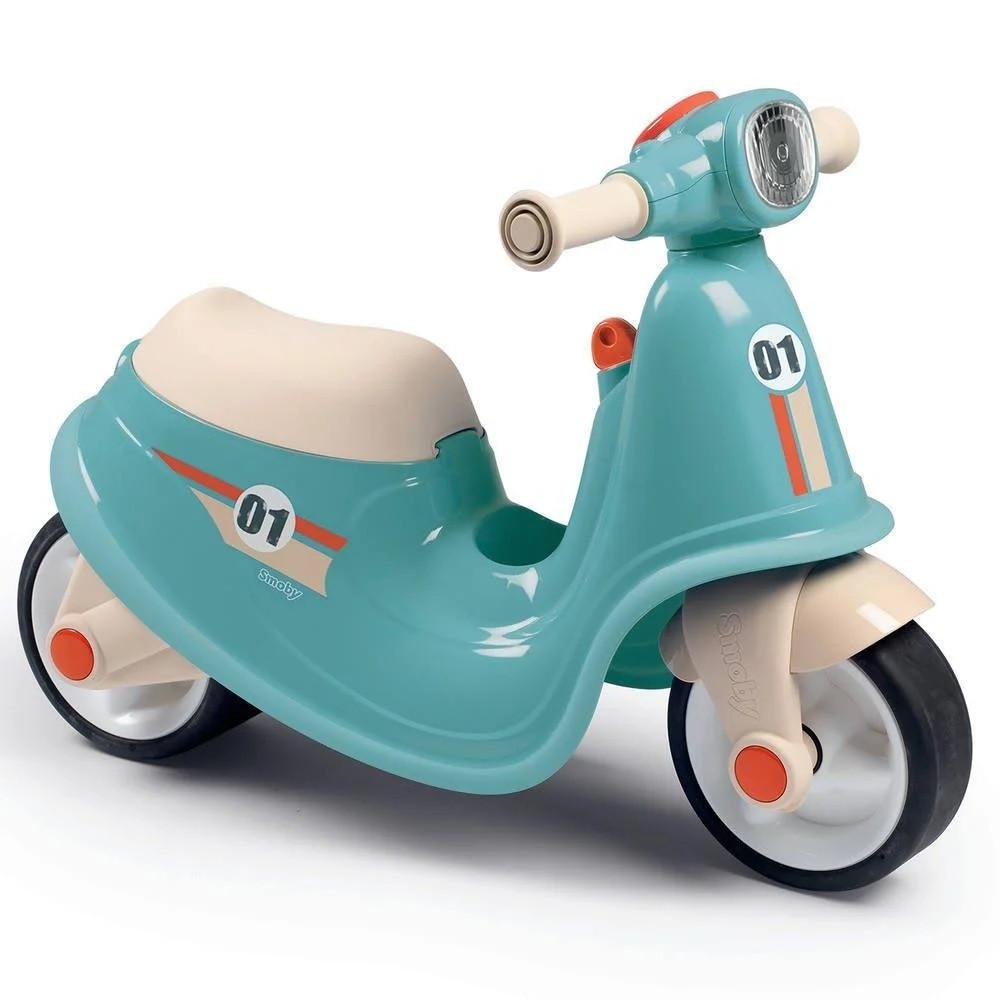 Дитячий біговел (2-колісний, до 20 кг), блакитний Smoby, 18м+ (721006)