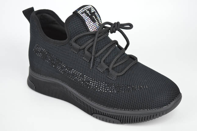 Кросівки текстильні V. I. konty 12005 40 Чорний, фото 2