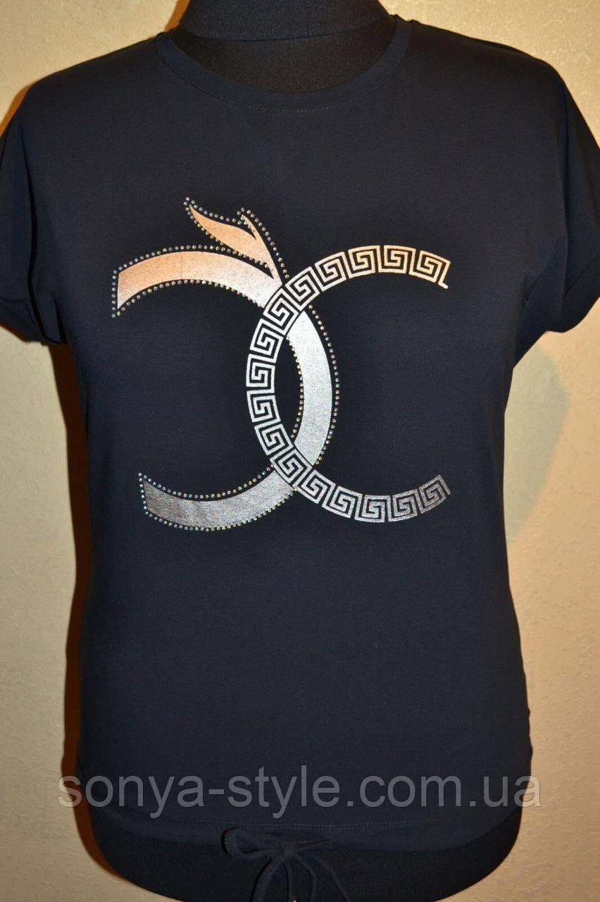 Жіночі футболки з шнурочком великих розмірів і відмінної якості