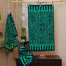 Рушник махровий ТМ Речицький текстиль, Дівчинка і ельф 50х90 см
