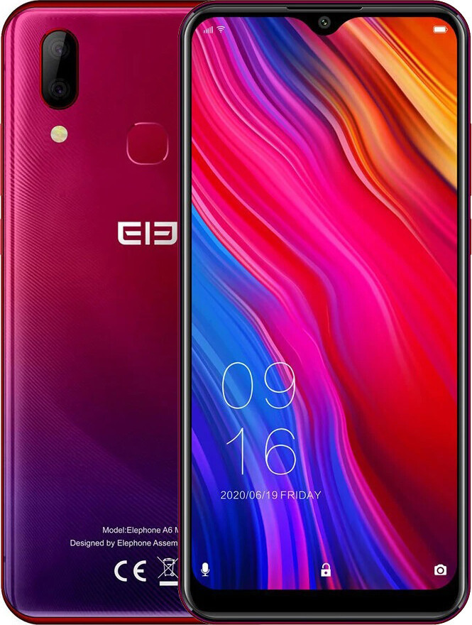 Смартфон Elephone A6 Max 4/64GB Red (Global)