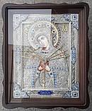 Елітна ікона Божої Матері Семистрельная скань, фото 8