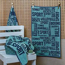 Рушник махровий ТМ Речицький текстиль, Sport газетка, 50х90 см