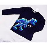 Лонгслив Тираннозавр H&M на мальчика р.110/116, фото 2