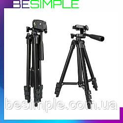 Штатив для камери і телефону FY-506 (41-115 см) / Тринога