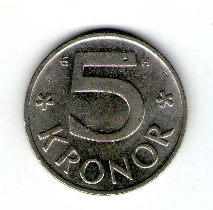 Швеція 5 крон 2003 рік №79