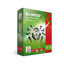 Антивірус Dr. Web Security Space цифрова ліцензія (нова версія 10.0) Електронний ключ
