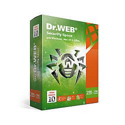 Антивірус Dr. Web Security Space Pro цифрова ліцензія (нова версія 10.0) Електронний ключ