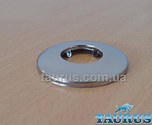 """Круглий декоративний фланець-чашка D60 / висота 8 мм із нержавіючої сталі, внутрішній розмір 3/4"""" (D26 мм)"""