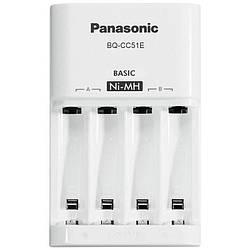 Зарядний пристрій AA/AAA Panasonic Basic Charger White