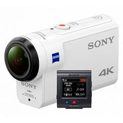 Екшн-камера Sony FDR-X3000R 4K Wi-Fi з пультом ДУ Live-View White