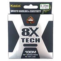 Шнур KAIDA 8X Tech