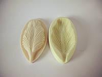 """Молд + вайнер  """"Лепесток тюльпана"""" (  р-р 8 х 4,5 см) для фоамирана и глины"""