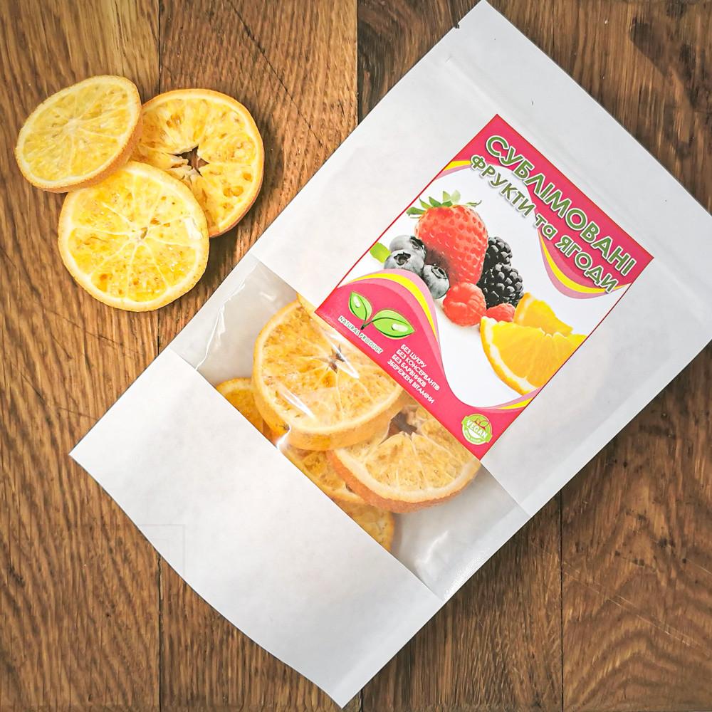 Сублімований мандарин, слайси. 25г
