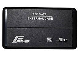 "Внешний карман Frime SATA HDD/SSD 2.5"", USB 3.0, Metal, Black (FHE20.25U30)"