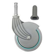 Колесо пластиковое для тележек Nick, NickLight, NickPlus, NickStar 80мм с муфтой