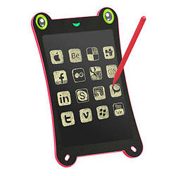 "Лайтпад PowerPlant Writing Tablet 8.5"" Frog Shaped Pink"