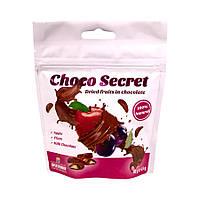 Конфеты из сухофруктов в шоколаде Choco Secret. Яблоко во фруктовой оболочке, 50 г