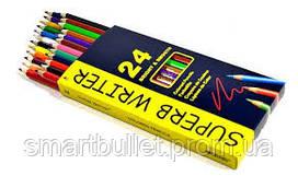 "Цветные карандаши Marco ""SUPERB WRITER"", 24 цвета 4100-24CB"