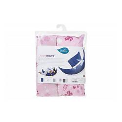 Набір аксесуарів для подушки Nuvita DreamWizard (наволочка, міні-подушка) Рожевий NV7101Pink