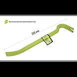 Alloid Лом с гвоздодером усиленный 355х22х12мм овал (BB-3552212), фото 3