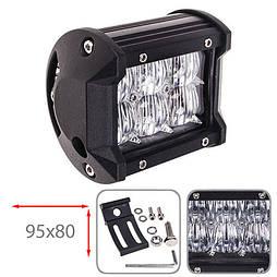 Светодиодная фара ближнего света 95х80мм Vitol LML-C2018 F-5D FLOOD  (6 LED*3w)