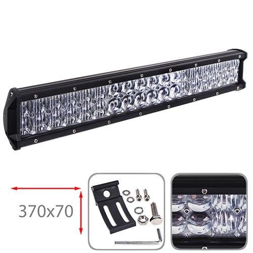 Світлодіодна фара 370х70мм Vitol LML-C2108 F-5D COMBO  (36 LED*3w)