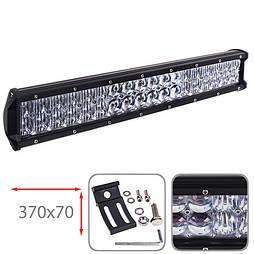 Светодиодная фара 370х70мм Vitol LML-C2108 F-5D COMBO  (36 LED*3w)