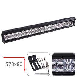 Светодиодная фара 570х80мм Vitol LML-C2144 F-5D COMBO  (48 LED*3w)