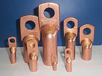 Наконечники кабельные медные удлиненные М4-5-3 Производство кабельных наконечников ,гильз,зажимов