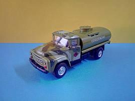Іграшка бензовоз ЗіЛ військовий автоцистерна Автопарк
