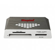 Кардридер USB3.0 Kingston High-Speed Media Reader Grey (FCR-HS4)