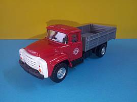 Іграшка бортовий ЗіЛ червона кабіна вантажівка Автопарк