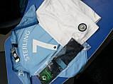 Детская футбольная форма Манчестер Сити №7 Рахим Стерлинг, фото 6
