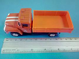 Іграшка бортовий ЗіЛ помаранчевий вантажівка Автопарк