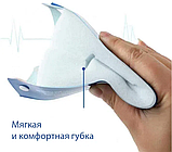 Защитный экран щиток для лица прозрачный пластик 33х22 см, фото 2