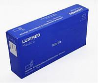 Нитриловые перчатки без пудры, медицинские перчатки LUXIMED MEDICAL