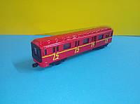 Игрушка красный Поезд метро Fast wheels