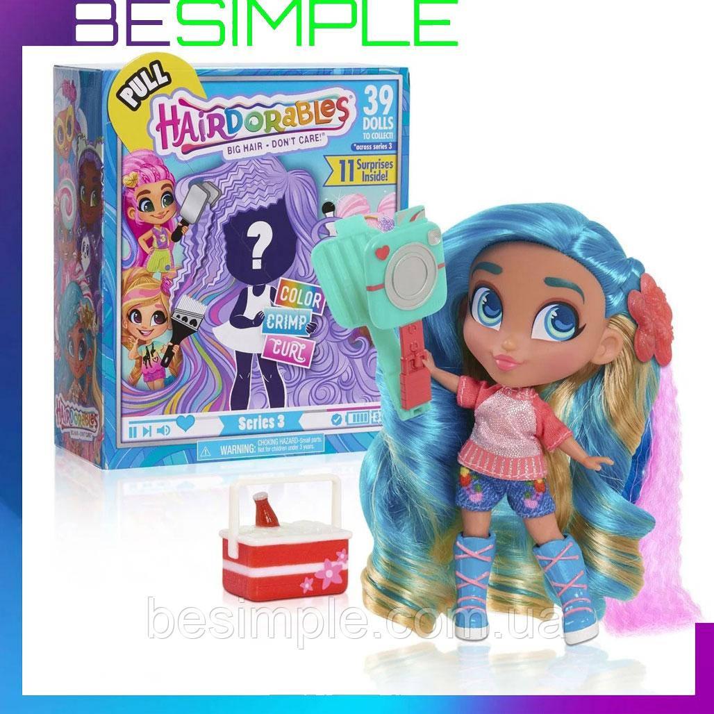 Лялька в коробці, дівчинка лялька, іграшка лялька Hairdorables Dolls