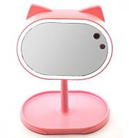 Led mirror большое зеркало с подсветкой для макиажа FOX | Косметическое зеркало с подсветкой