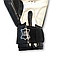 Боксерські рукавички 10 oz шкіра, чорні BOXER, фото 3