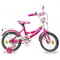 """Детский велосипед Impuls Kitty 14"""" для девочек от 3 до 6 лет"""
