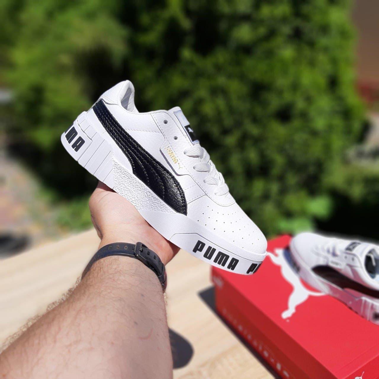 Кросівки жіночі Руму Cali Білі з чорним