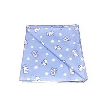 """Пелёнки для новорожденных, байковые, 90 см""""90 см, фланелевые, 5 шт./набор (арт.1607)"""