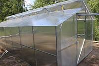 Теплицы из поликарбоната -виды конструкции