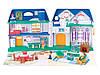 Игровой набор кукольный домик  Keenway Моя счастливая семья, с мебелью и фигурками( звук , свет ), фото 3